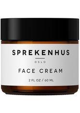 Sprekenhus Gesichtspflege Face Cream Gesichtscreme 60.0 ml