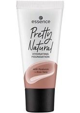 essence Pretty Natural Hydrating Flüssige Foundation  30 ml NR. 280 - COOL EBONY