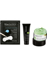 TEAOLOGY - Teaology Gesichtspflege Matcha Ultra Firming Face Cream 50 ml + Green Tea Detox Face Srcub 20 ml + White Tea Miracle Eye Mask 7 ml 1 Stk. Gesichtspflegeset 1.0 st - Pflegesets