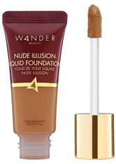 WANDER BEAUTY - Wander Beauty - Nude Illusion Liquid Foundation – Golden Rich – Foundation - Neutral - one size - FOUNDATION