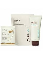 AHAVA Maske Dead Sea Osmoter Eye Patches + Natural Dead Sea Bath Salt 250 g + Hydration Cream Gesichtsmaske 100 ml 1 Stk. Körperpflegeset 1.0 st