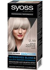 Syoss Permanentes Blond Kühles Blond Kühles Platinblond Haarfarbe 115 ml