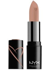 NYX Professional Makeup Shout Loud Hydrating Satin Lipstick (Various Shades) - A La Mode