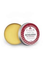Ben & Anna Produkte Cream Deo - Pink Grapefruit 45g Deodorant 45.0 g