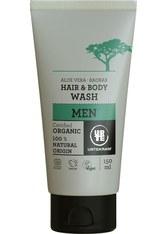 URTEKRAM - URTEKRAM MEN Aloe Vera Baobob Hair & Body Wash -  150 ml - DUSCHEN & BADEN