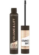 Catrice Volume & Lift Brow Mascara Waterproof Augenbrauengel  5 ml Dark Brown