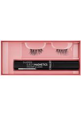 CATRICE - Catrice Wimpern Catrice Wimpern Super Easy Magnetics Eyeliner & Lashes Magical Volume 010 Make-up Set 4.0 ml - Falsche Wimpern & Wimpernkleber