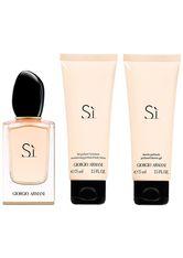 Armani Damendüfte Si Geschenkset Eau de Parfum Spray 50 ml + Shower Gel 75 ml + Body Lotion 75 ml 1 Stk.