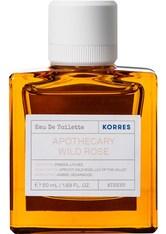 KORRES Düfte Apothecary Wild Rose Eau de Toilette Nat. Spray 50 ml