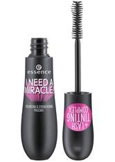 Essence Augen Mascara I Need A Miracle! Volumizing & Strengthening Mascara Nr. 01 Black 16 ml
