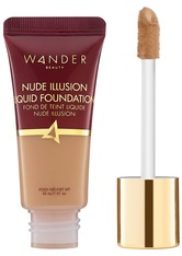 WANDER BEAUTY - Wander Beauty - Nude Illusion Liquid Foundation – Golden Medium – Foundation - Neutral - one size - FOUNDATION