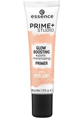 ESSENCE - Essence Teint Make-up Prime+ Studio Glow Boosting + Pore Minimizing Primer 30 ml - PRIMER