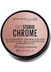 Maybelline Rouge & Bronzer Maybelline Rouge & Bronzer Facestudio Chrome Jelly Highlighter Highlighter 8.6 ml