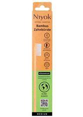Niyok Produkte Bambus Zahnbürste medium - Klimaschutz Zahnbürste 1.0 pieces