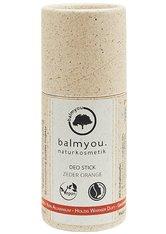 BALMYOU - Balmyou Produkte Balmyou Produkte Deo Stick - Zeder Orange 50g Deodorant Stift 50.0 g - Roll-On Deo