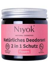 Niyok Produkte 2in1 Deodorant - Flowers 40ml Deodorant 40.0 ml
