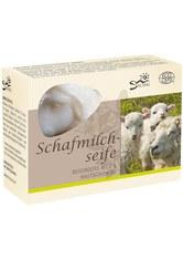 Saling Produkte Schafmilchseife - Schaf weiß Schachtel 85g  85.0 g