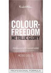 COLOUR-FREEDOM - Colour Freedom Haare Haarfarbe Metallic Glory Permanent Hair Colour Graphite Grey 1 Stk. - HAARFARBE