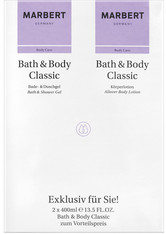 Marbert Pflege Bath & Body Geschenkset Bath & Shower Gel 400 ml + Allover Body Lotion 400 ml 1 Stk.
