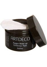 ARTDECO - Artdeco Pflege Reinigungsprodukte Augen Make-up Entferner Pads Fettfrei 60 Stk. - MAKEUP ENTFERNER