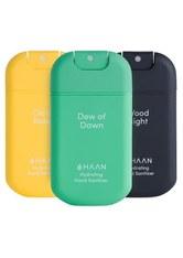 HAAN Handdesinfektion Pocket Dew of Dawn, Citrus Noon, Wood Night Desinfektionsmittel 1.0 pieces