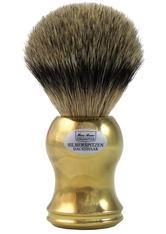 HANS BAIER EXCLUSIVE - Hans Baier Exclusive Produkte Dachshaar Silberspitz Rasierpinsel Gold Rasierpinsel 1.0 st - RASIER TOOLS