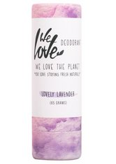 WE LOVE THE PLANET - We Love The Planet Deo Stick Lovely Lavender 65 Gramm - Deodorant - ROLL-ON DEO