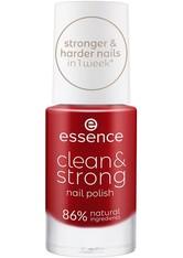 ESSENCE - Essence Nagellack Essence Nagellack Clean & Strong Nail Polish Nagellack 8.0 ml - Nagellack