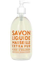 La Compagnie de Provence Savon Liquide Marseille Extra Pur Fleur d'Oranger Flüssigseife  495 ml