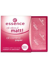 ESSENCE - essence - Hautpflege - all about matt! oil control paper - FIXIERUNG