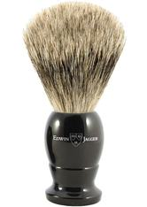 EDWIN JAGGER Produkte Best Badger Dachshaar Rasierpinsel Griff schwarz Rasierpinsel 1.0 pieces