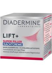 DIADERMINE Lift+ Super Filler Hyaluron Anti-Age Nachtcreme 50 ml