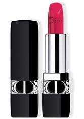 Dior - Rouge Dior – Nachfüllbarer Lippenstift – Satiniert, Matt, Metallic & Samtig - -rouge Dior Satin 766 Rose Harpers