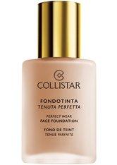 Collistar Face Perfect Wear SPF 10 Flüssige Foundation  30 ml Nr. 4 - Biscuit