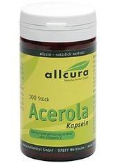 allcura Naturheilmittel Produkte Acerola Kapseln Nahrungsergänzungsmittel 100.0 pieces
