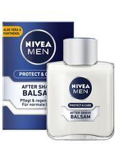 Nivea Pflege Protect & Care After Shave Balsam Gesichtspflege 100.0 ml