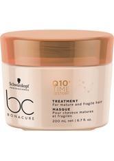 Schwarzkopf Professional Haarkur »BC Bonacure Q10+ Time Restore Treatment«, 1-tlg., Speziell für reifes und trockenes Haar ab 40