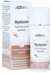 Dr. Theiss Naturwaren Produkte HYALURON SANFTE Bräune Gesichtspflege Creme Selbstbräuner 50.0 ml