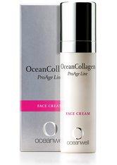 OCEANWELL - Oceanwell Produkte OceanCollagen - Face Cream 30ml Gesichtscreme 30.0 ml - TAGESPFLEGE