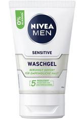 NIVEA MEN Sensitive Waschgel für empfindliche Haut Reinigungsgel 100 ml