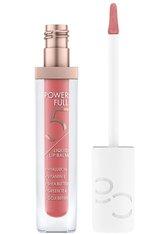 Catrice Power Full 5 Liquid Lip Balm Lipgloss 4.5 ml Glossy Apricot