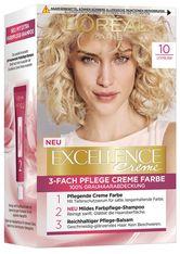 L'Oréal Paris Excellence Crème 10 Lichtblond Coloration 1 Stk. Haarfarbe