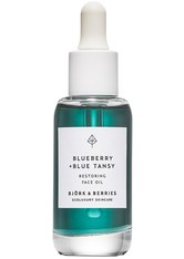 Björk & Berries Pflege Blueberry & Blue Tansy Restoring Face Oil Gesichtsöl 30.0 ml