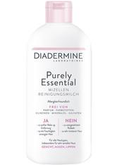 DIADERMINE Purely Essential Purely Essential Milch Mizellen Reinigungsmilch Gesichtspflege 400.0 ml