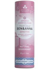 BEN & ANNA - Ben & Anna Produkte Japanese Blossom - Sensitive Deo Stick 60g Deodorant Stift 60.0 g - ROLL-ON DEO