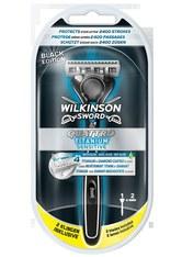 Wilkinson Quattro Quattro Titanium Herren Rasierer mit 2 Rasierklingen Rasiergel 1.0 pieces