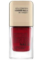 Catrice Stronger Nails Strengthening Nail Lacquer Nagellack  10.5 ml Solid Red
