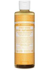 Dr. Bronner's Produkte Zitrus-Orange - 18in1 Naturseife 240ml Seife 240.0 ml