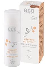 ECO COSMETICS - Eco Cosmetics Produkte Eco Cosmetics Produkte OPC. Q10 & Hyaluron - LSF50 CC Creme dunkel 50ml CC Cream 50.0 ml - Tagespflege