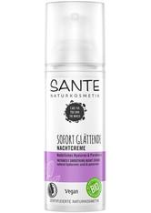 SANTE - Sante Natürliches Hyaluron & Parakresse  Sofort Glättende Nachtcreme Nachtcreme  50 ml - NACHTPFLEGE